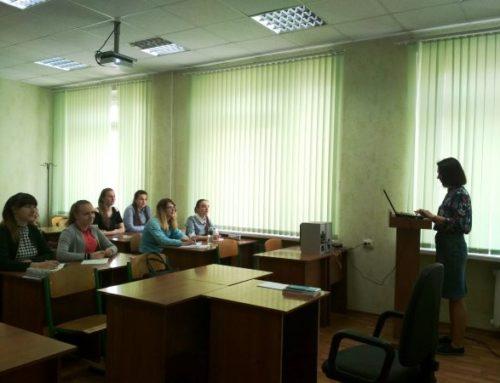 Полтавські студентки-редакторки прослухали семінар «Можливості та перспективи регіонального фактчекінгу»